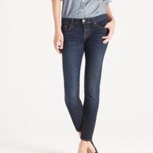 J.Crew Toothpick anke jeans